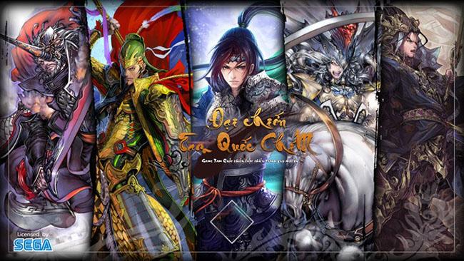 Tam Quốc Chí Đại Chiến mobile – game chiến thuật 3Q được ủy quyền chính hãng từ SEGA