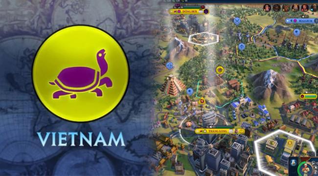 Game chiến thuật đình đám Civilization VI  cập nhật biểu tượng Rùa Vàng cùng hàng loạt địa danh Việt Nam