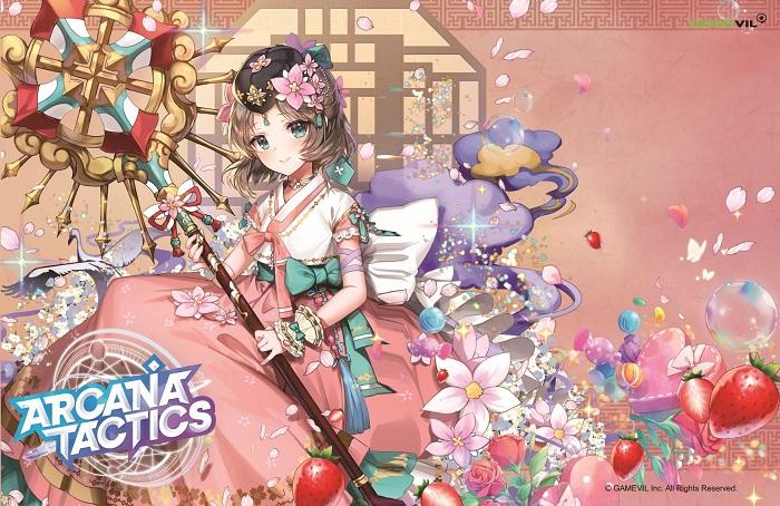 Arcana Tactics – game đậm phong cách anime của Gamevil mở đăng ký