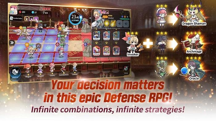 Arcana Tactics - game đậm phong cách anime của Gamevil mở đăng ký