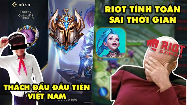 LMHT Tốc Chiến 24h: Game thủ đầu tiên đạt rank Thách Đấu Việt Nam – Riot tính toán sai thời lượng