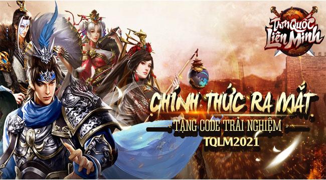 Tặng 500 giftcode Tam Quốc Liên Minh SohaGame nhân dịp game ra mắt