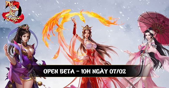 Mỹ Nữ Truyện, siêu phẩm game 18+ chính thức công bố Open Beta sớm