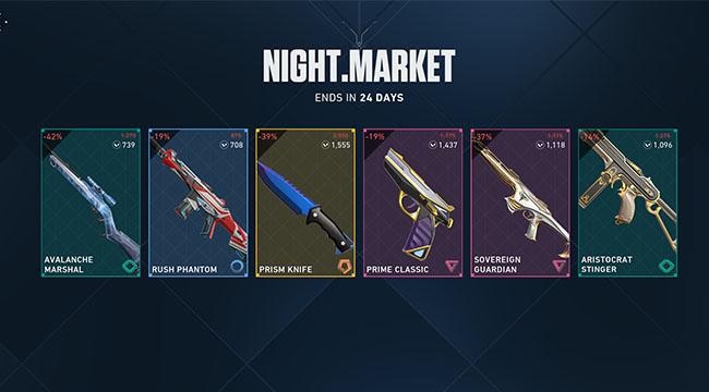 VALORANT: Chợ Đêm chính thức trở lại với phiên bản nâng cấp