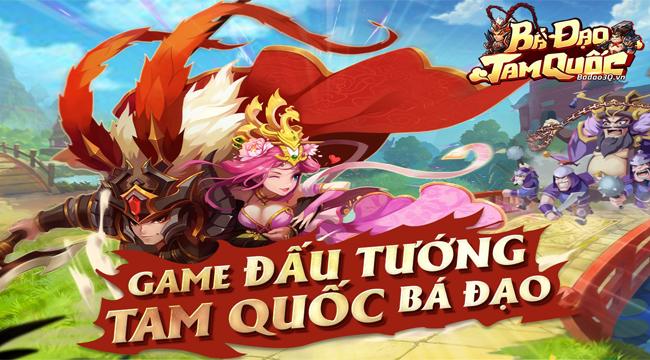 Bá Đạo Tam Quốc mang đến lối chơi đấu tướng cổ điển trên mobile