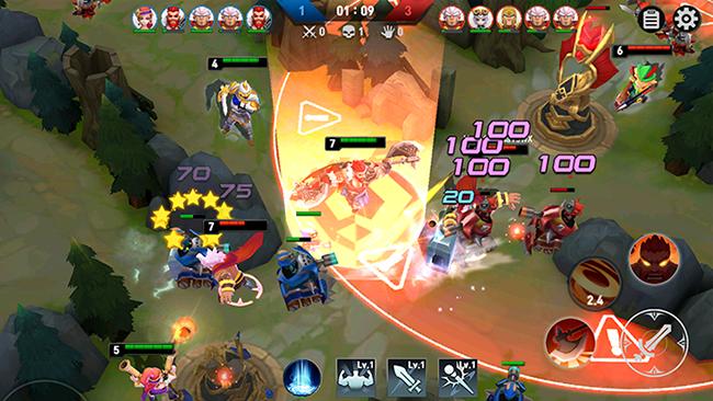 """Masters Battle League 5v5 – MOBA hoạt hình """"dễ chơi dễ trúng thưởng"""""""