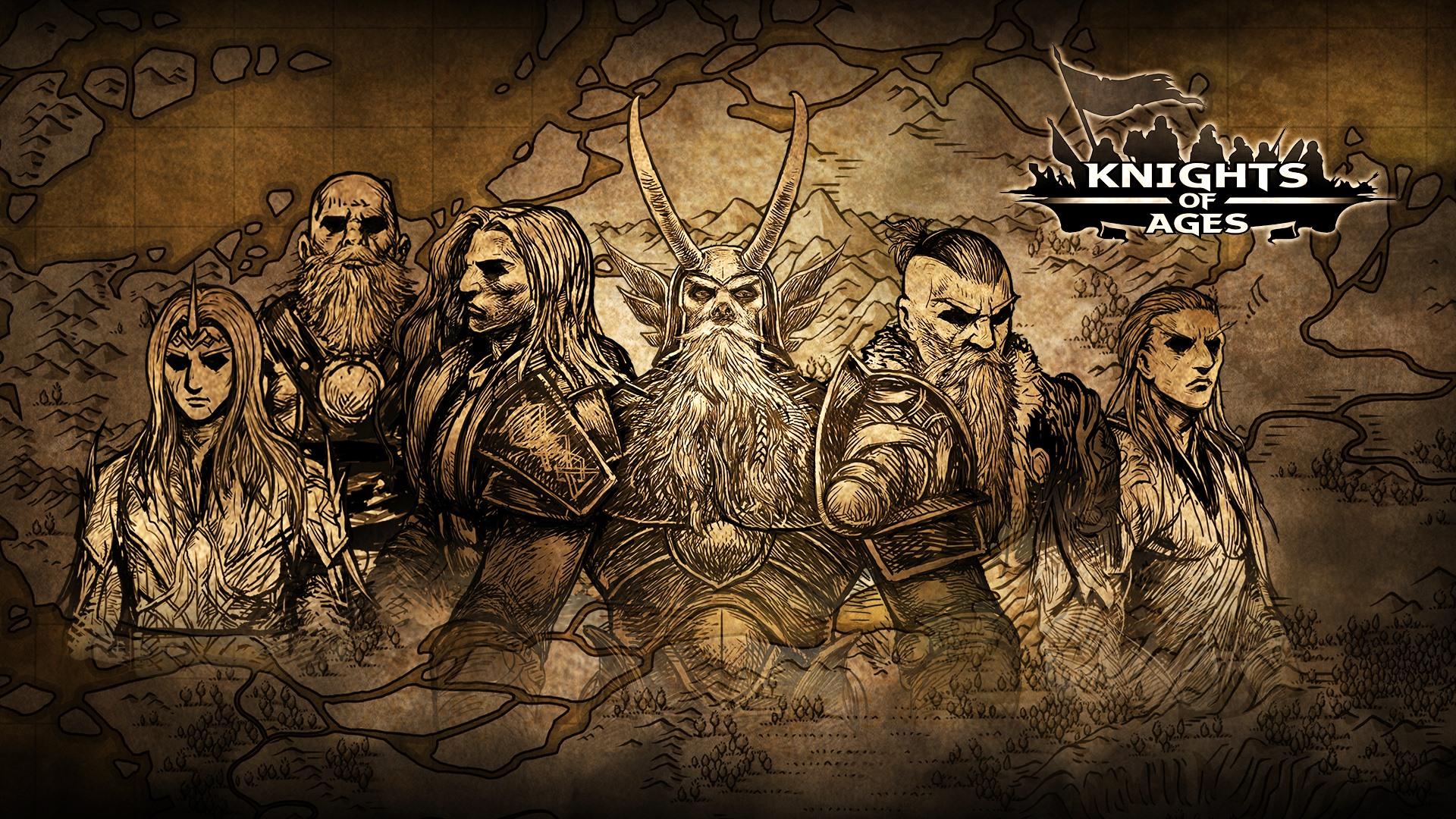 Knights of Ages – thời đại hiệp sĩ cho những fan của thể loại chiến thuật