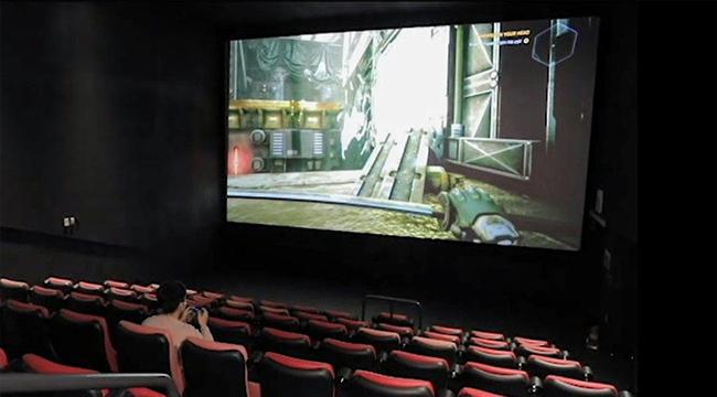 Ế ẩm vì dịch, rạp chiếu phim mở dịch vụ cho thuê mặt bằng để chơi game