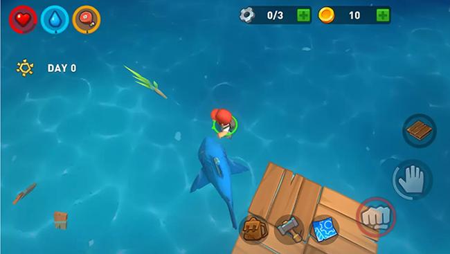 Epic Raft – trải nghiệm sinh tồn giữa biển khơi