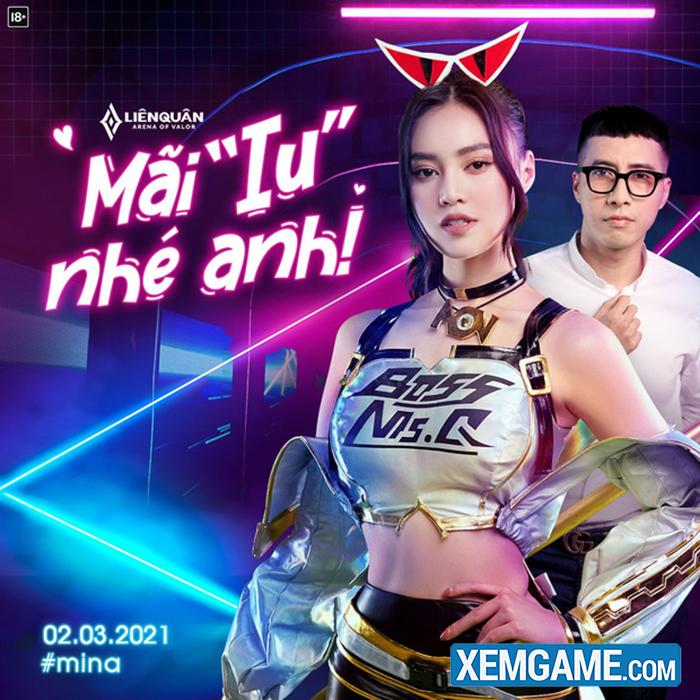 Liên Quân Mobile: Mina Ninh Dương Lan Ngọc gây sốt với màn góp giọng trong  MV quảng bá