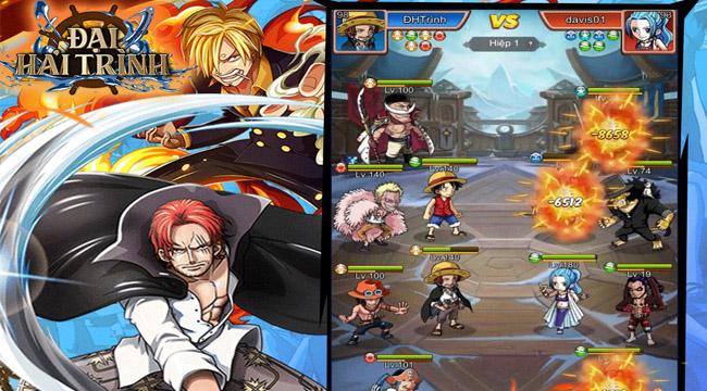"""Đại Hải Trình – Tân binh Idle chuẩn One Piece mới xuất hiện tại làng game Việt là """"ai""""?"""