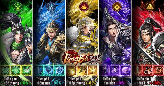 Thần Ma Tam Quốc có tên gọi chính thức là Long Bá 3Q Mobile khi cập bến VN