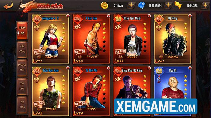 Người Trong Giang Hồ SohaGame | XEMGAME.COM