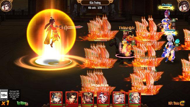 """Tạo hình danh tướng trong Long Tướng 3Q khiến người chơi phải """"giật mình"""""""
