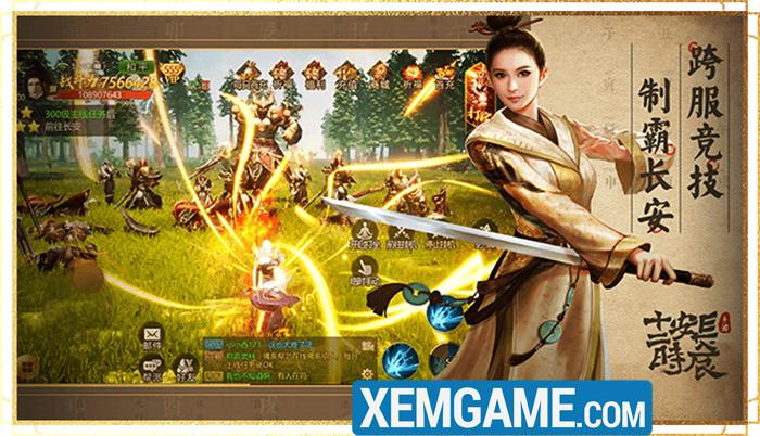 Game mobile kiếm hiệp sinh tử Thiên Mệnh Trường An sắp được Funtap ra mắt