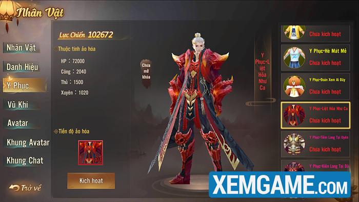 Phong Khởi Trường An | XEMGAME.COM