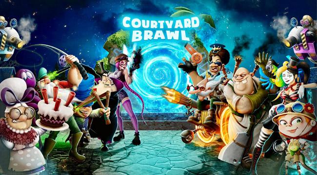 Courtyard Brawl – game thủ tháp dựa trên MOBA Awakening of Heroes