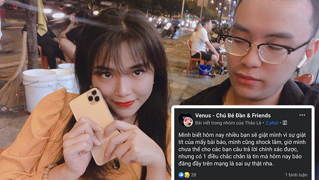 LMHT: Giữa bão drama, bạn gái Venus lên tiếng phủ nhận tin đồn