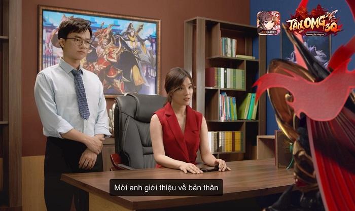 Mãn nhãn với chuyện tình Lữ Bố - Điêu Thuyền phiên bản Tân OMG3Q VNG