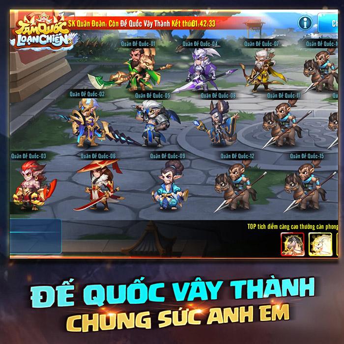 Tam Quốc Loạn Chiến cùng nhau tạo nên hành trình huyền thoại Tam-quoc-loan-chien-funtap-tang-giftcode-2