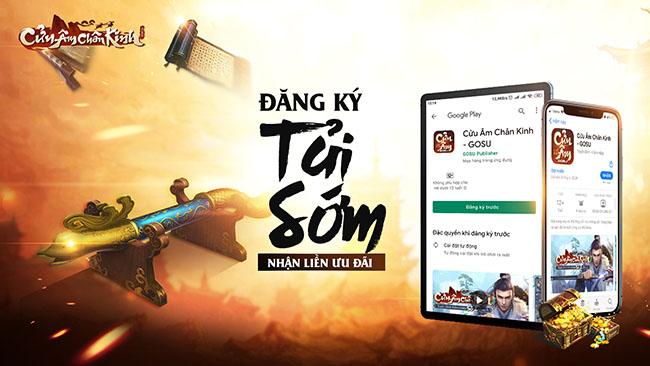 Cửu Âm Chân Kinh Mobile mở đăng ký tải sớm, cộng đồng rần rần chuẩn bị chiến game